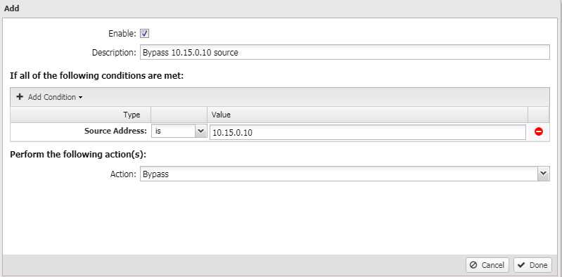 How to bypass traffic from filtering – Untangle Support