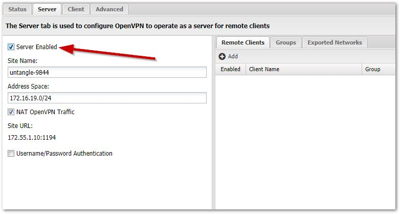 Configure and deploy OpenVPN Clients for remote users