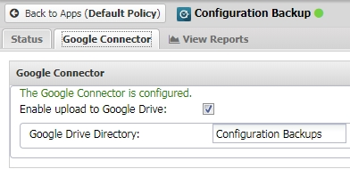 Integrating Config Backup with Google Drive – Untangle Support